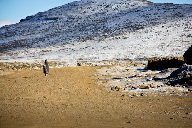 Landy, Snow Adventure - Andy's Birthday, Sani Pass - July 2012 (9)