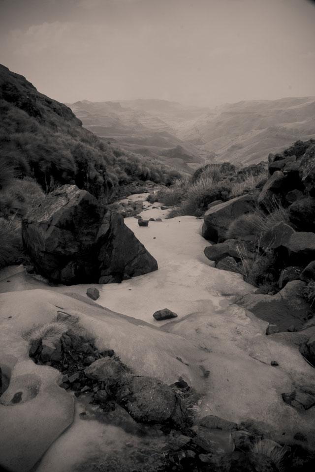 Landy, Snow Adventure - Andy's Birthday, Sani Pass - July 2012 (57)