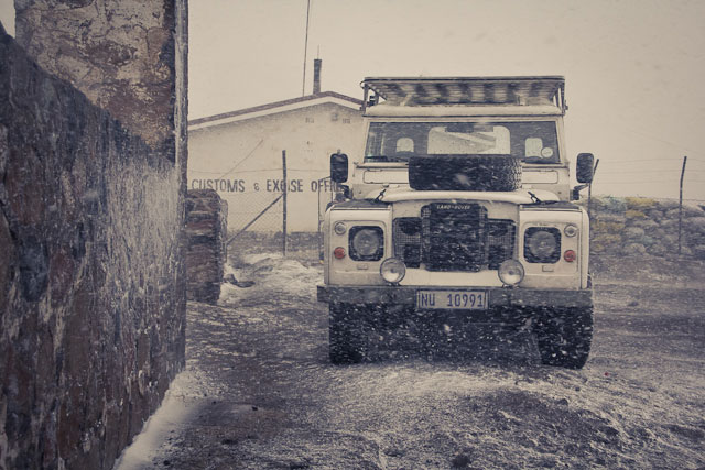 Landy, Snow Adventure - Andy's Birthday, Sani Pass - July 2012 (52)