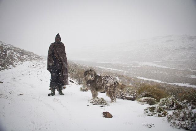 Landy, Snow Adventure - Andy's Birthday, Sani Pass - July 2012 (48)