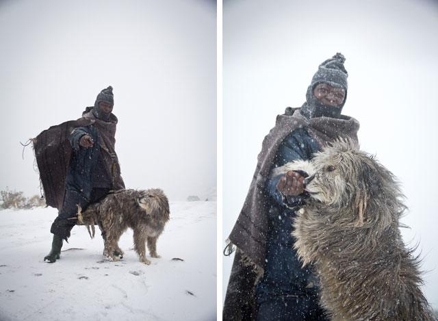 Landy, Snow Adventure - Andy's Birthday, Sani Pass - July 2012 (47)