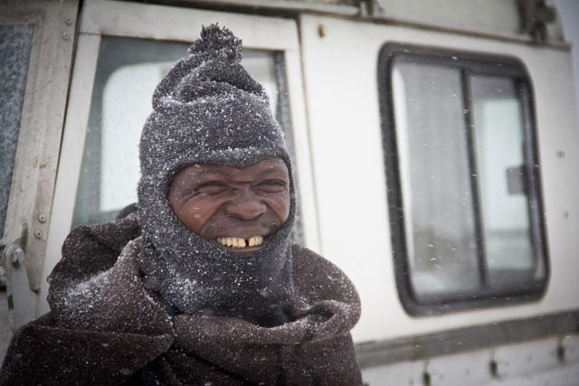 Landy, Snow Adventure - Andy's Birthday, Sani Pass - July 2012 (46)