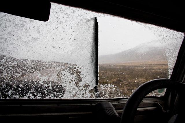 Landy, Snow Adventure - Andy's Birthday, Sani Pass - July 2012 (39)