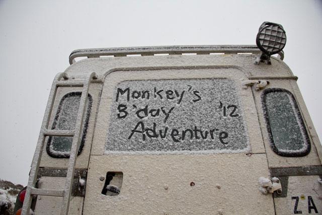 Landy, Snow Adventure - Andy's Birthday, Sani Pass - July 2012 (31)