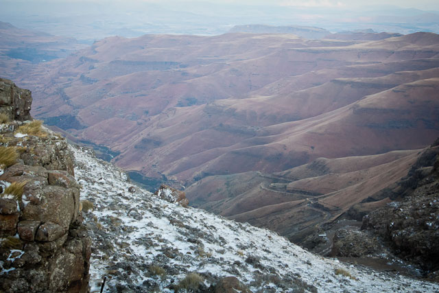 Landy, Snow Adventure - Andy's Birthday, Sani Pass - July 2012 (23)