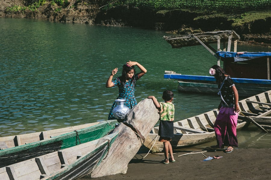 Myanmar-Mrauk U-Chin Villages-014