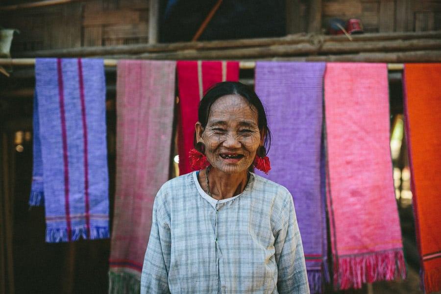 Myanmar-Mrauk U-Chin Villages-020