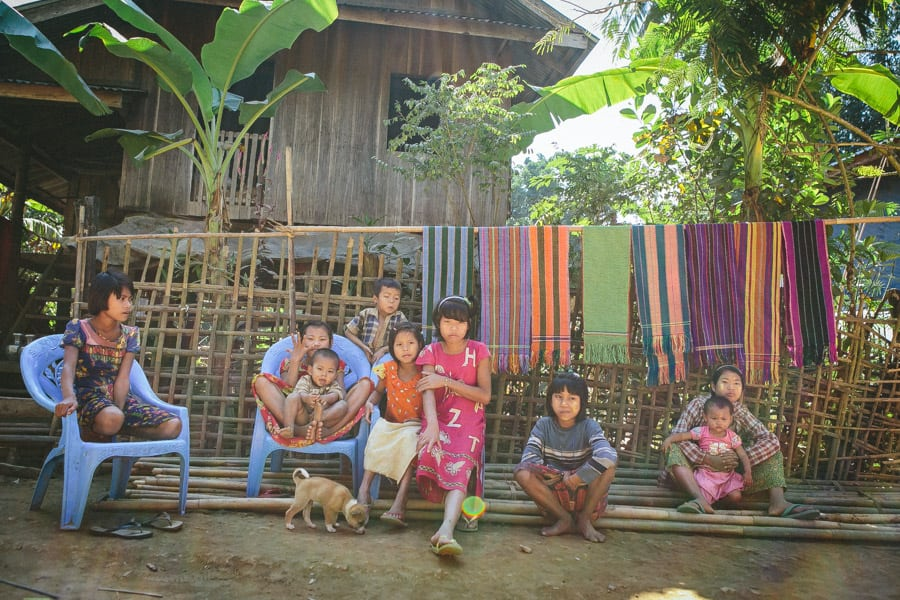 Myanmar-Mrauk U-Chin Villages-027